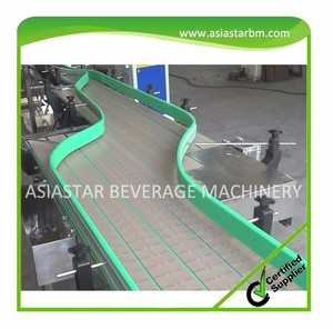 Newest automatic small water bottle conveyor belt system