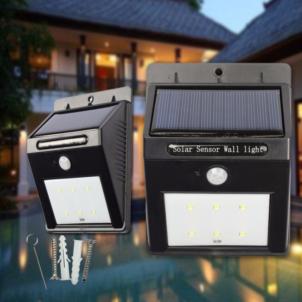 New design 28LED solar powered wireless security waterproof outdoor motion sensor new solar garden light 2017