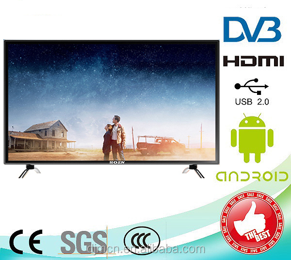 New product high quality 65 inch Full HD LED TV with temepared glass