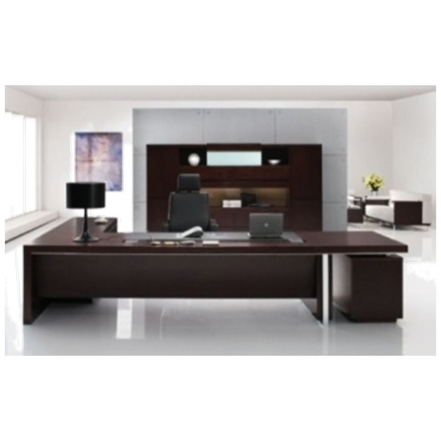New Design Hot Sale Office furniture executive desk with side return