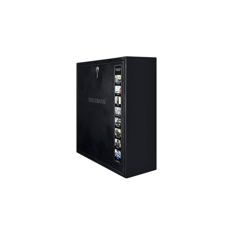 Black Ultra Thin Rack 4U CE SGS Certificated Wall Mounted Cabinet For  Server/Switch