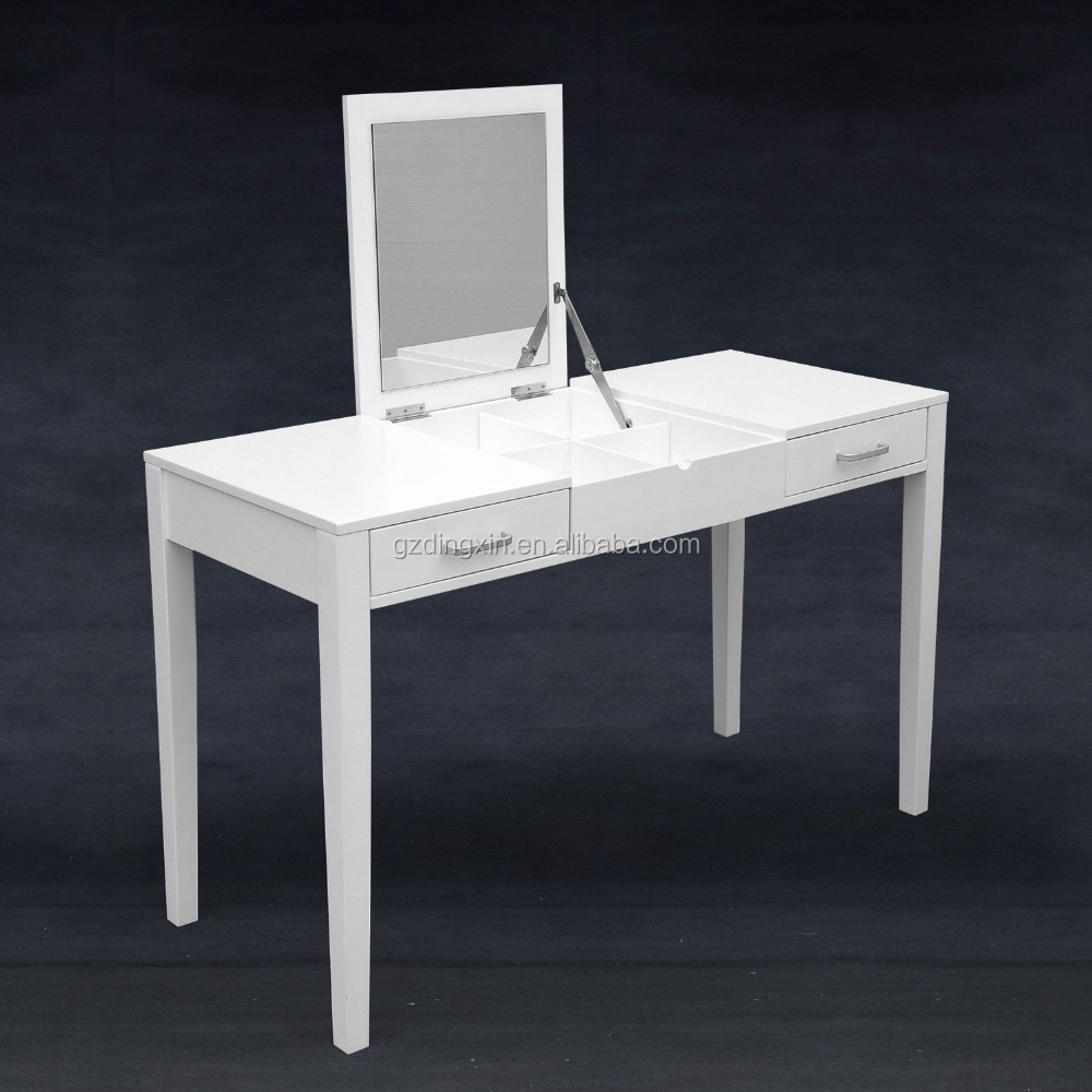 Moderne witte dressing kaptafel make-up tafel dx-501-houten kasten ...