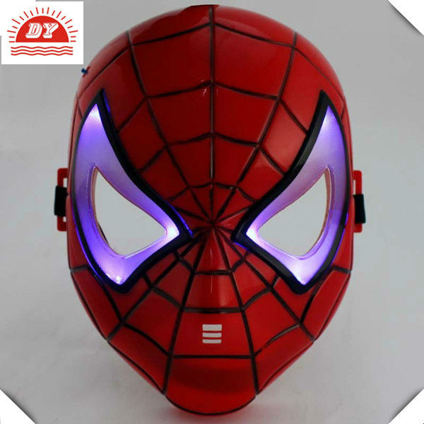 3d children mask, spider-man led light therapy mask
