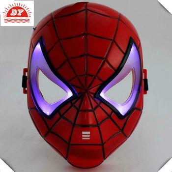3d çocuk Maskesiörümcek Adam Işık Led Tedavisi Maskesi Buy Led