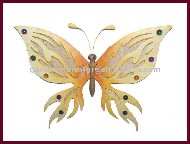 Metal Butterfly Wall Art Decor Outdoor Garden Supplies Wholesale ...