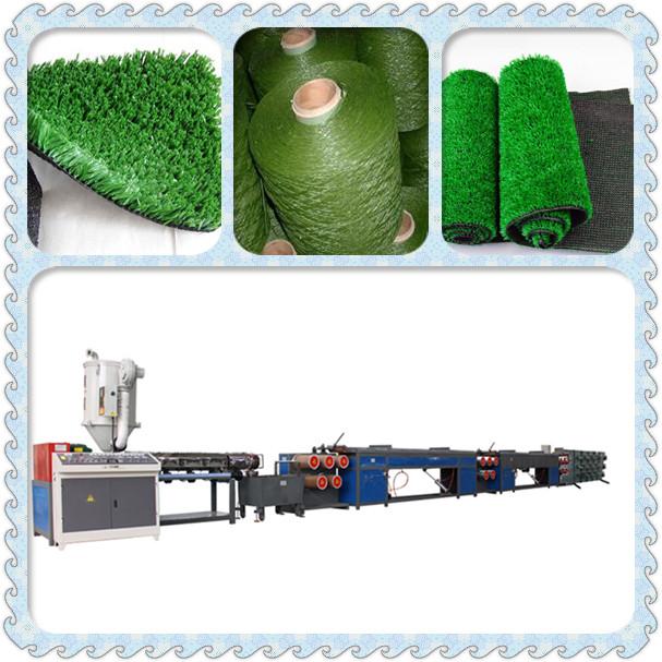 Cheap price artificial grass yarn making machine pp yarn plastic filament extruding machine