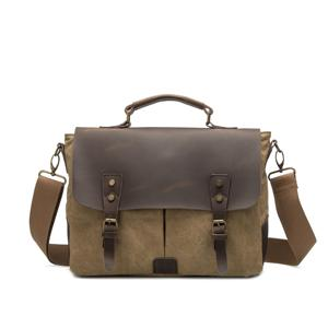 heritage series Canvas messenger bag for men factory in guangzhou