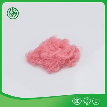 Pillow toys stuffing material regenerated siliconized polyester staple fiber