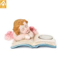 Resin Garden Little Girl Statue Angel