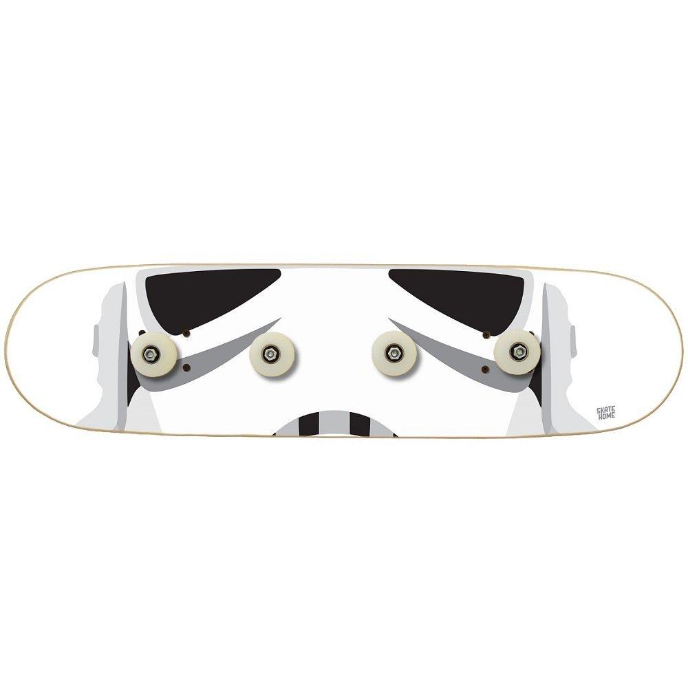 6b116da873 Get Quotations · Skateboard.Stormtrooper Star Wars Modern Wooden Board.  Wall Mounted Coat Rack. Four Skate