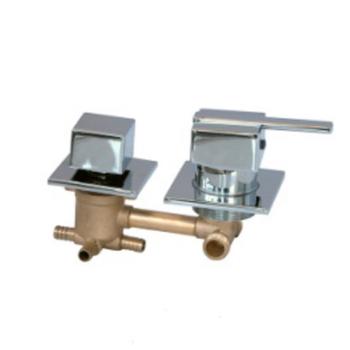 Brass Body Concealed 5 Way Diverter Valve Shower 4 Function Shower Diverter  Valve