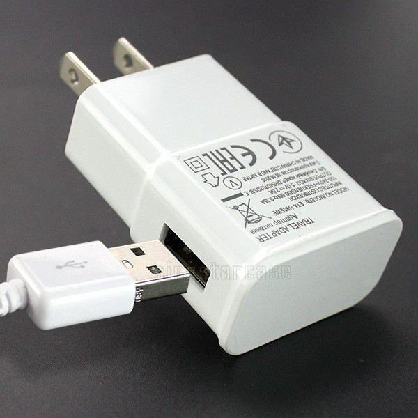 Grosir Universal untuk Iphone Samsung Dinding USB Mikro Cepat Charger 5 V 2.1A Portable Perjalanan USB Ponsel Charger