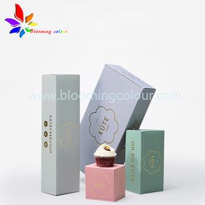Full Colour Customized Makeup Set Box Liquid skincare product Packaging Paper Box
