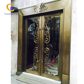 Stainless Steel Front Entry Frame Customized Manufacturer Decorative Trim Modern Interior Door.