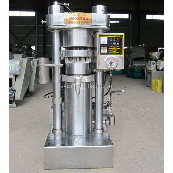 New product high quality hydraulic sesame oil press machine for sale