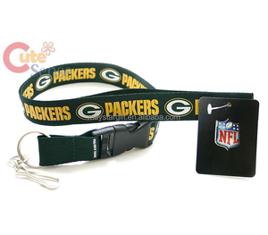 Green Bay Packers lanyard of 32 NFL teams