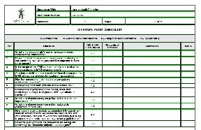 Internal Audit Checklist Sample Templates - Buy Sample Templates ...