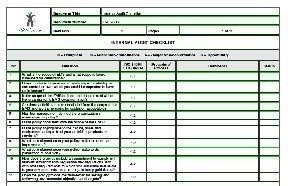 supplier audit plan template - internal audit checklist sample templates buy sample