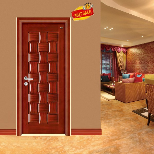 Puertas para habitacion puerta maciza lacada completa a for Puertas de madera para entrada principal de casa