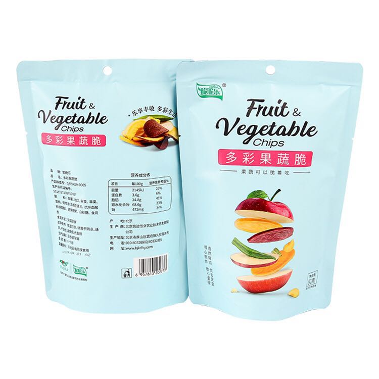 High quality vacuum fried apple chips mix fruit chips