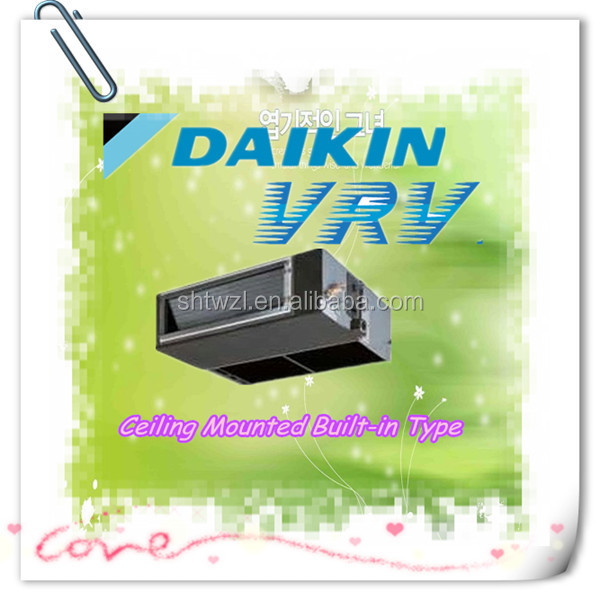 Daikin Air Conditioning Ceiling Mounted Built In Ducting Type Indoor Fan Coil Unit Small Vrv X Series Ducted