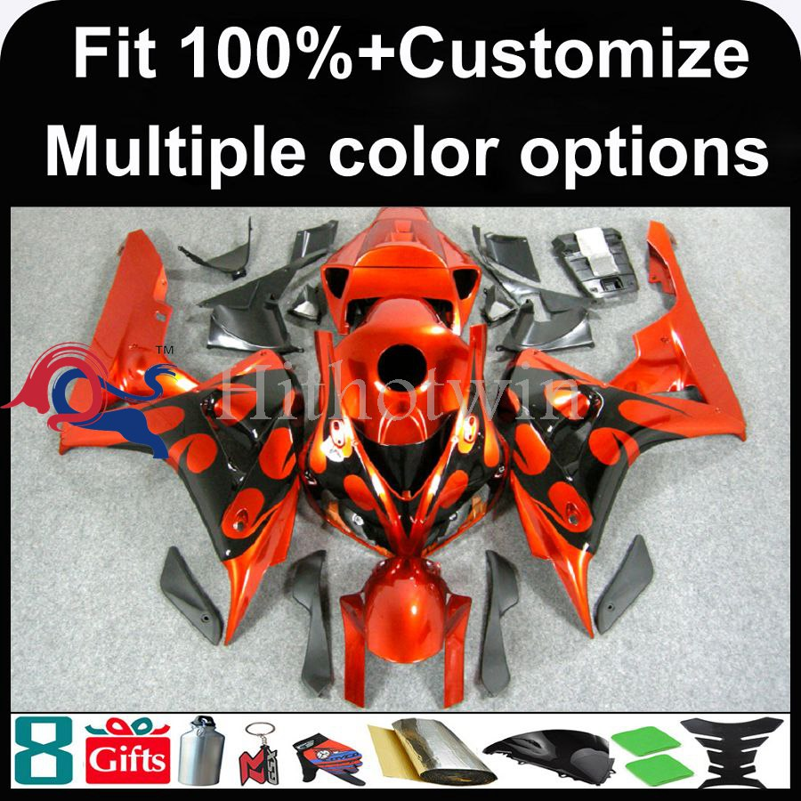 INJECTION MOLDING panels 2006 2007 CBR 1000RRED Fairing For HONDA CBR-1000RR fairings 2006 2007 CBR1000RR 2006 2007 CBR1000 Fair