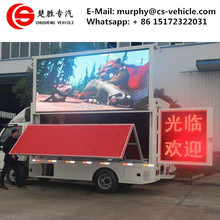 Foton 4X2 Good Promotion 6 Wheel LED advertising Truck for Sale