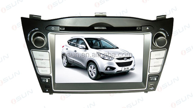 7 inch HYUANDAI iX 35 car dvd player DVD GPS BT TV SD USB