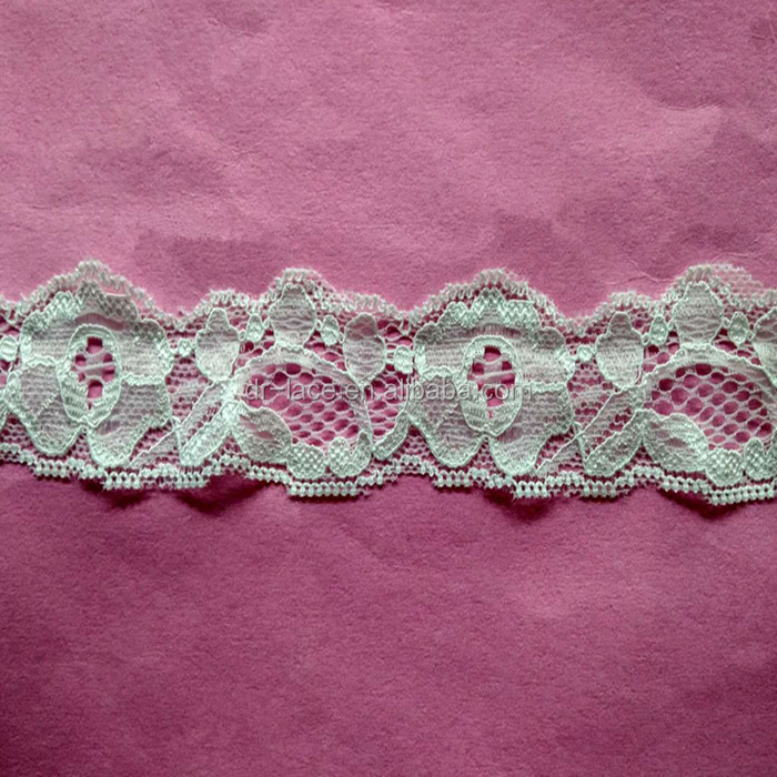 stretch ivory lace trim lace garter lace