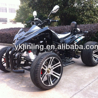 (JEA-21A-09)250cc quad bike atv water cooled with EEC for 2 passengers