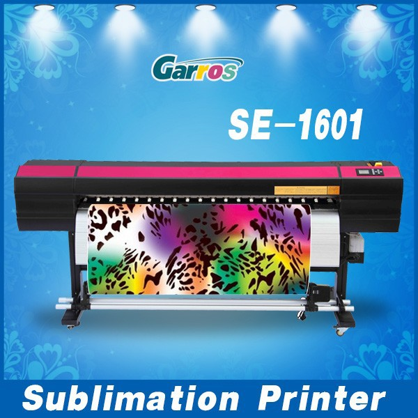 High Quality SE1601 dye sublimation textile pritner(Ep son DX5,High Speed)