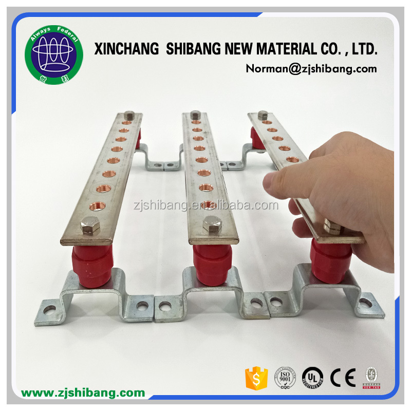Power Copper Busbar Terminal Block