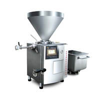 Automatic Commercial Sausage Making Machine Vacuum Meat Processing Sausage Stuffing Machine