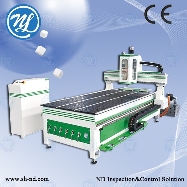 3.0KW CNC Router NDM1325 Green For Wood Working