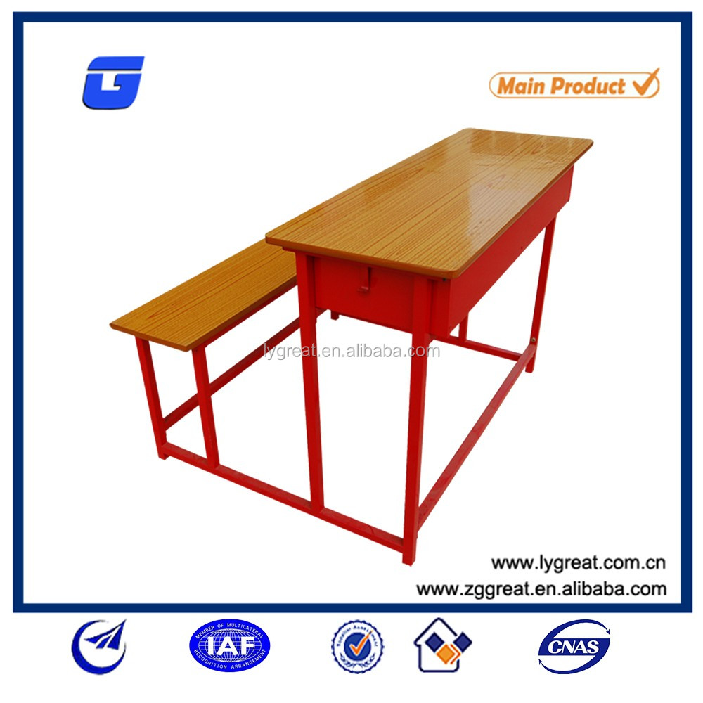 Cheap school classroom furniture used student desks/student desk and chair