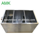 201 China Stainless steel grease trap factory/Wholesale Customized Size Commercial Kitchen oil and grease trap