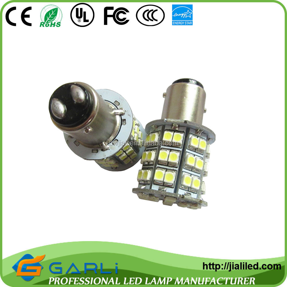 distributors agents required 1157 bay15d 60smd 3528 1210 2835 white Led Bulb Super Light Decoration car brake revertse Light