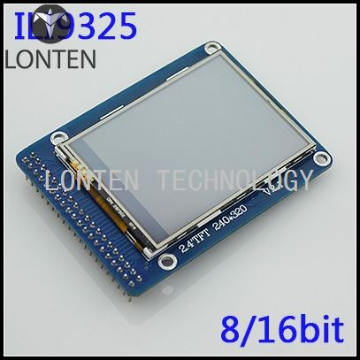 2.4 inch TFT LCD touch screen module module 51 LCD driver touch screen ILI9341