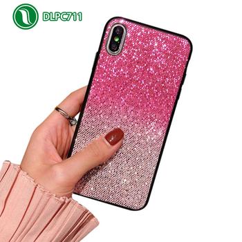 Comprar Funda Glitter Rosa degradada para Iphone 6 Plus y Iphone