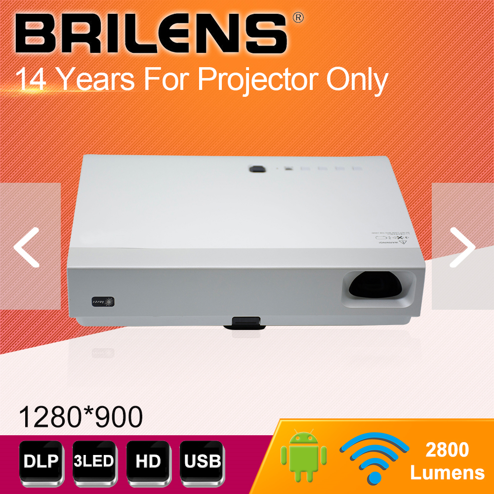 Share your moment Brilens projector company produce 3d led lcd video projektor, dlp projector
