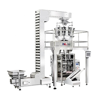 NEW full 304 Stainless Steel automatic weighing packaging machine,grain food packing machine
