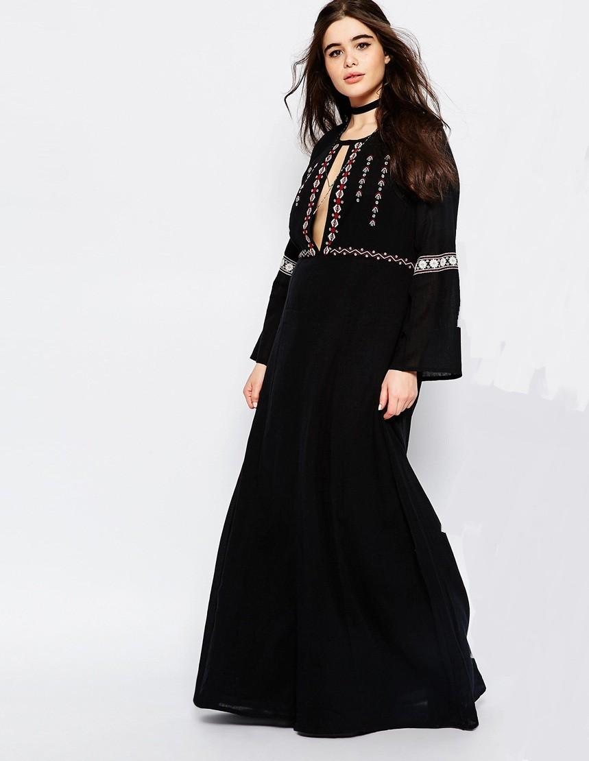 Nuevos Diseños De Alta Calidad Dubai Abaya Con Bordado Vestido Para ...