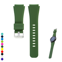 Watchband for S3,Soft Silicone Replacement Bracelet Wrist Strap Watch Band for Samsung Gear S3 Frontier / Classic Smartwatch