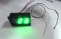 large green led display digital thermometer