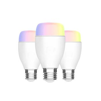 APP Remote Control smart bulb RGBW 16 million lighting colors smart wifi lamp LED Music Bulb Work With Alexa Google Assistant