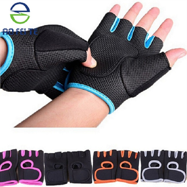 neoprene bodybuilding sport fitness gloves exercise training gym gloves for men women