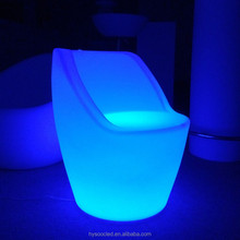 living room led sofas/ glowing furniture arm chair
