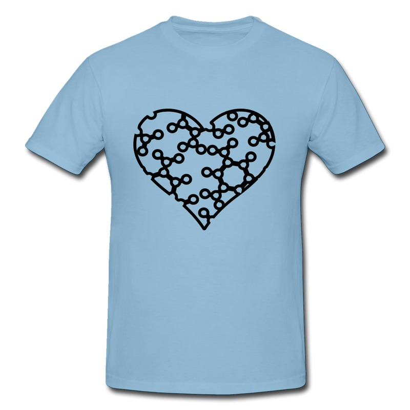 Low Price Regular Mans Tee Heart Customize Geek Shapes T for Boys