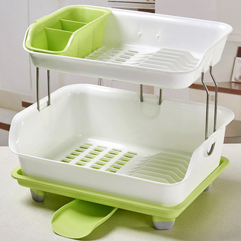 New High Quality Kitchen Utensil Drying Racks For Bowls Cups Dishes/plastic  Dish Rack Kitchen