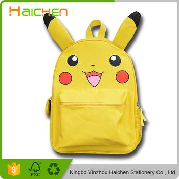 9d89b71e264 Pokemon monster Rugzak Jongens Meisjes Schooltassen Pikachu Prints Rugzak  Voor Tieners Kids Rugzakken Schooltassen Mochila